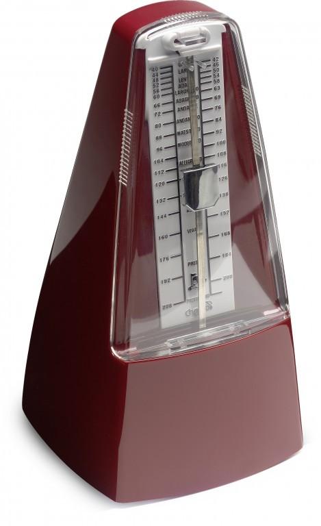 Stagg MM-70 BD, mechanický metronom, vínový