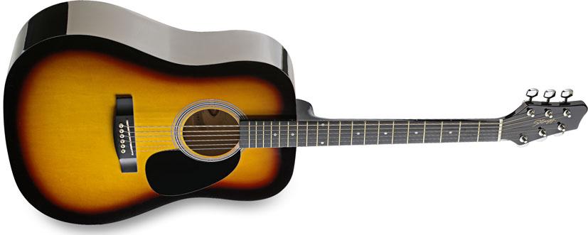 Stagg SW201SB, akustická kytara