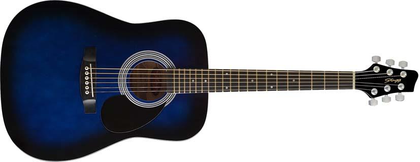 Fotografie Akustická kytara Stagg SW2013/4BLS