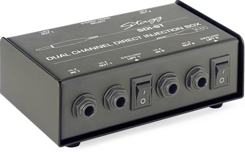 Stagg SDI-ST, DI box pasivní