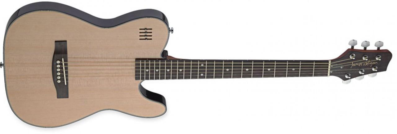 Fotografie Elektrická kytara James Neligan typu Folk