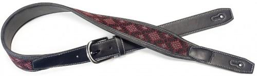 Stagg SFLW-DIA červený, Kombinace kůže a bavlny