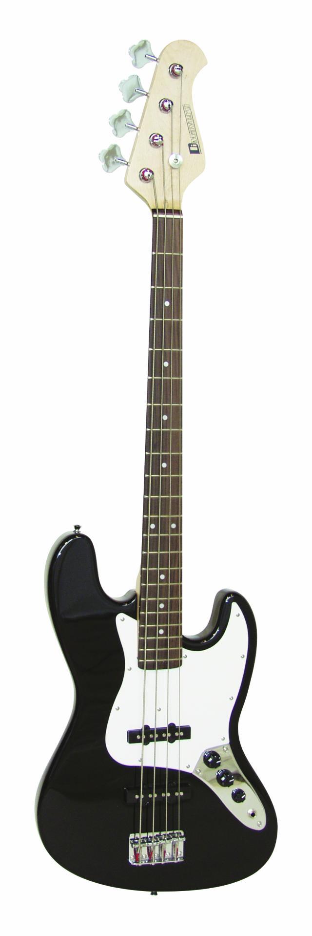 Dimavery JB-302 E-Bass, černý