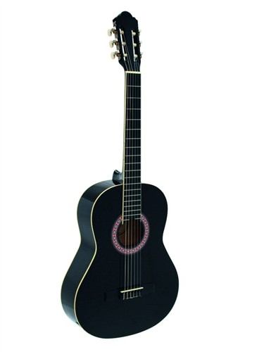 Dimavery AC-303 klasická kytara, černá