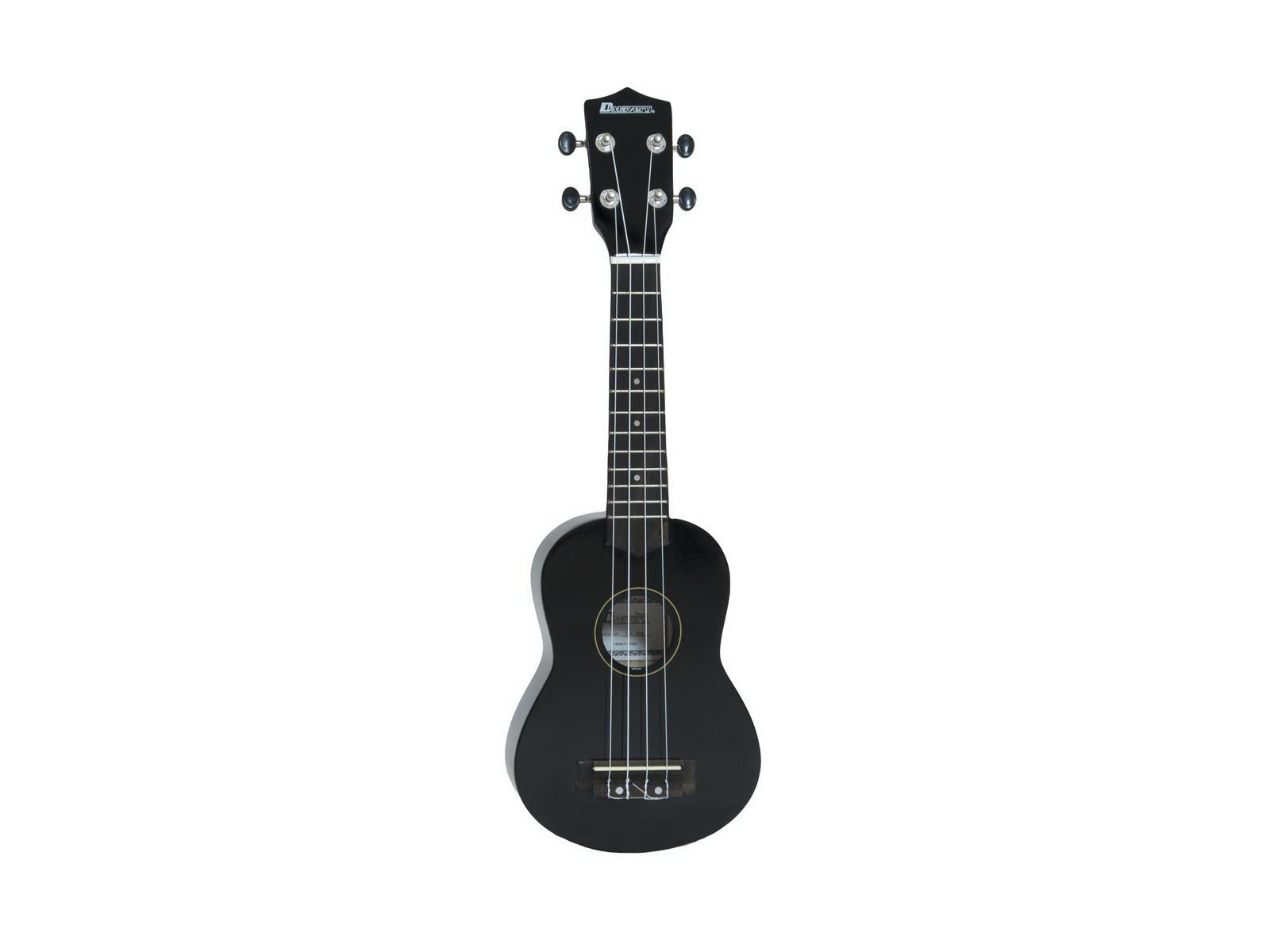 Fotografie Dimavery UK-200 ukulele sopránové, černé