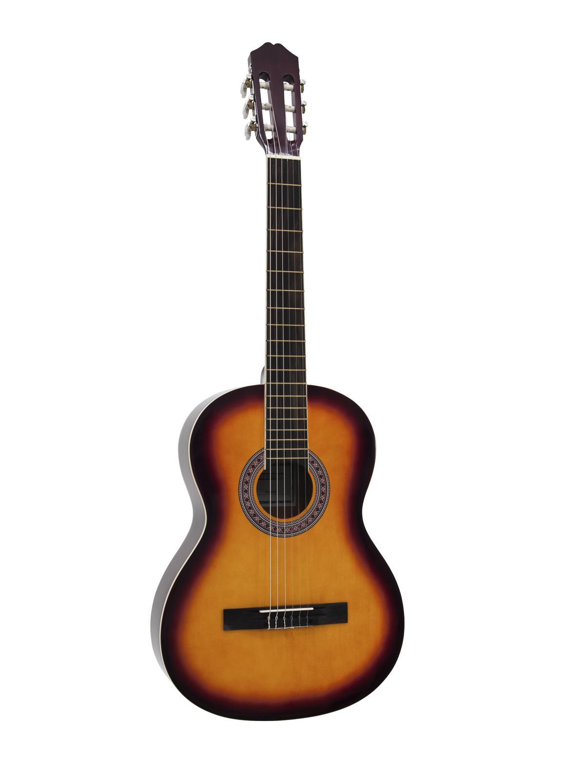 Dimavery AC-303 klasická kytara, sunburst
