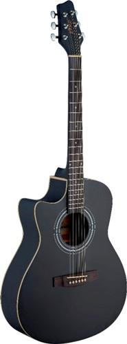 Fotografie Stagg SA30ACE-BK LH, elektroakustická kytara
