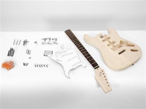 Dimavery DIY ST-20 Guitar kit elektrické kytary stratocaster