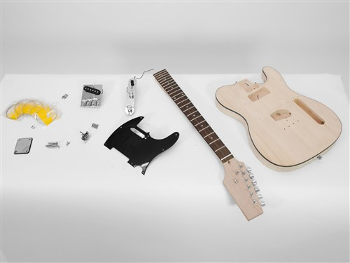 Dimavery DIY TL-10 Guitar kit elektrické kytary telecaster