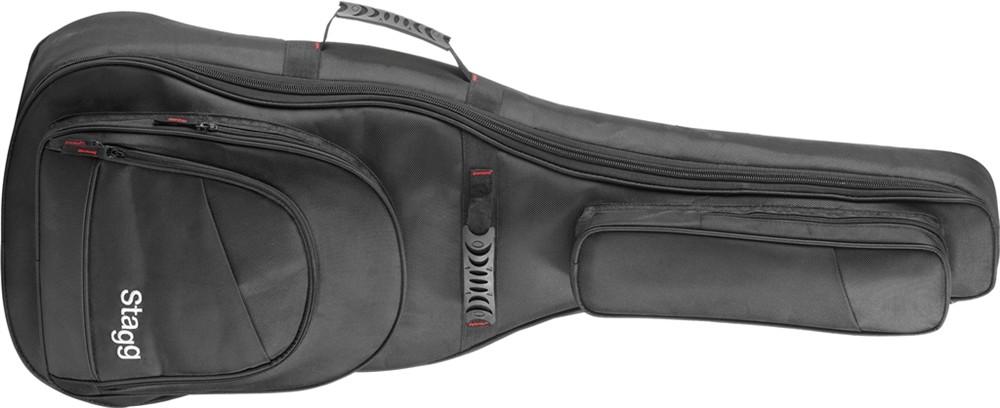 Fotografie Pouzdro pro kytaru Stagg Pro klasickou - nylonové, barva černá