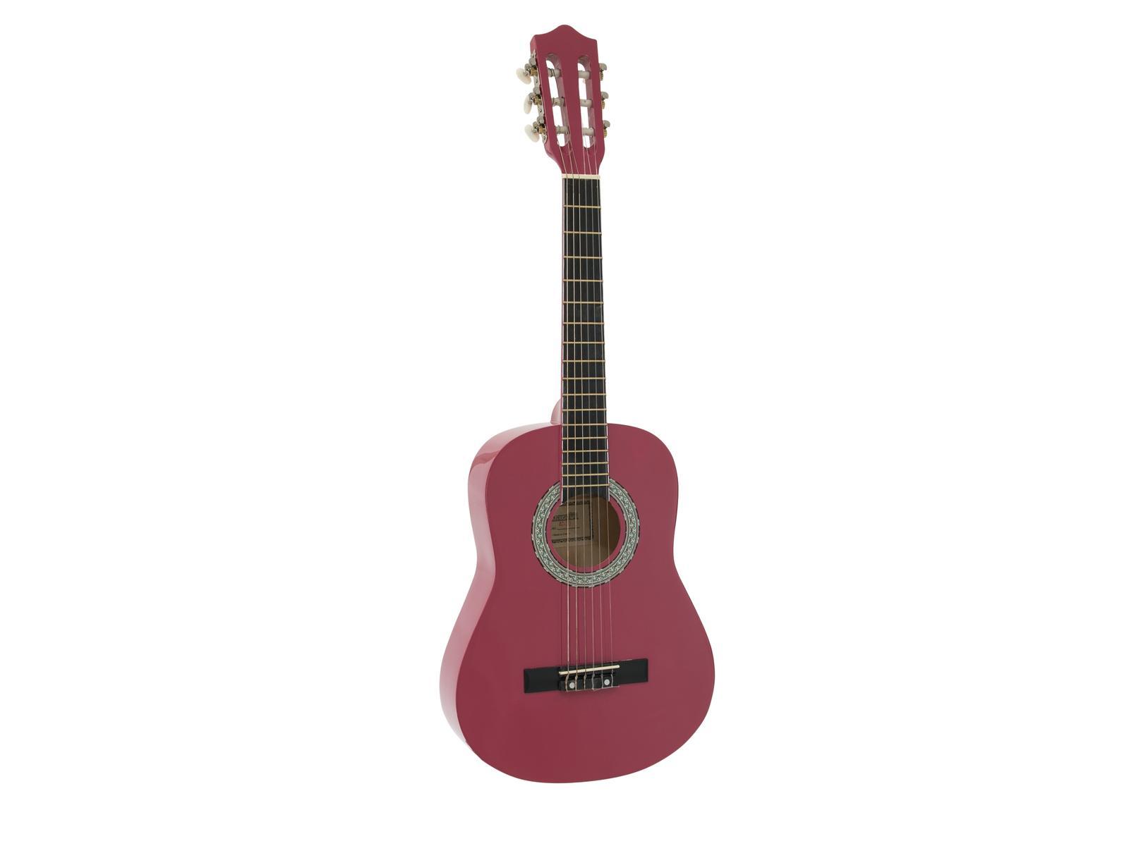 Dimavery AC-303 klasická kytara 1/2, růžová