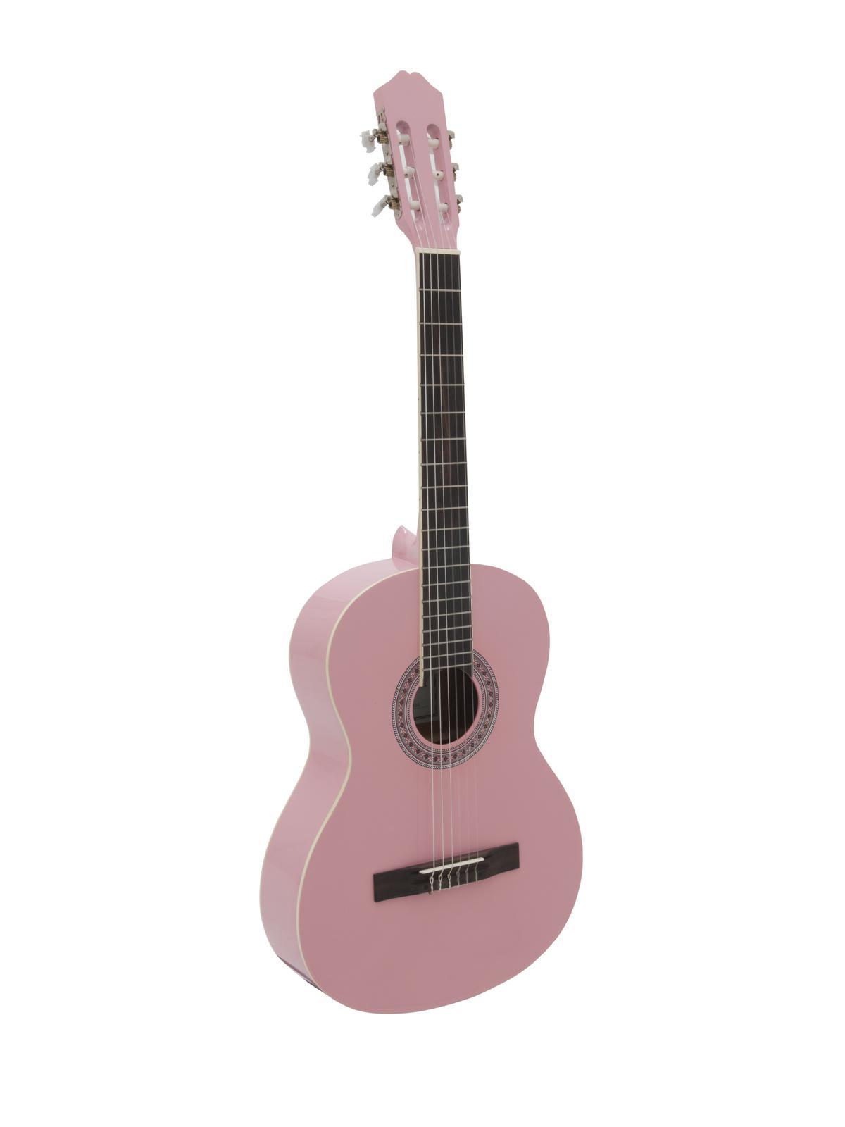 Dimavery AC-303 klasická kytara, růžová