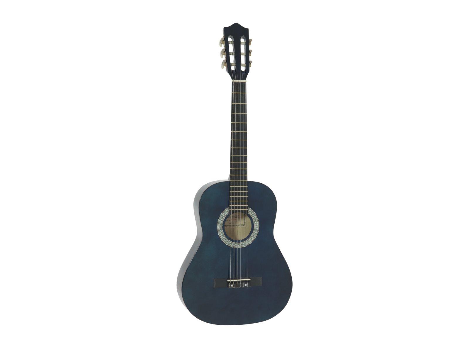 Dimavery AC-303 klasická kytara 3/4, modrá